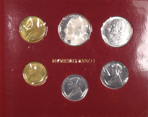 Vatican Pope John Paul II Mint Set 1979 With Silver Coin