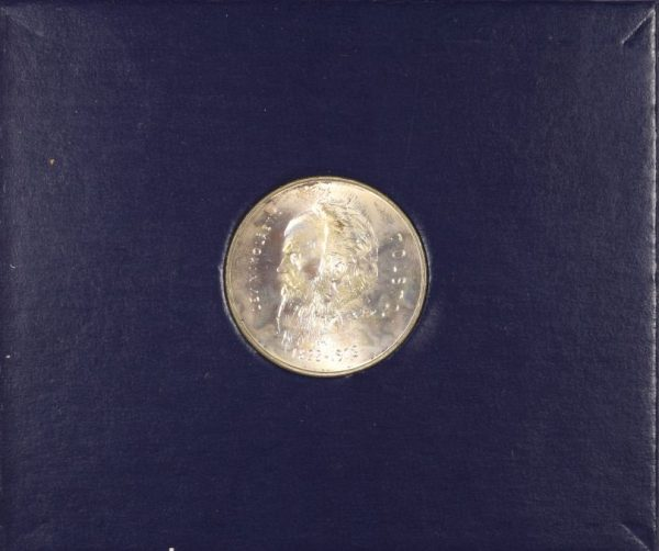 San Marino 1978 Lire 1000 Silver Leo Tolstoi Silver in Box Certificate