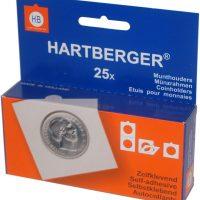 Χαρτονάκια Νομισμάτων Θήκες Hartberger Αυτοκόλλητα 15,0mm Νο 0