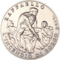 Vatican Museum Commemorative Silver Medal Raffaelo 2009