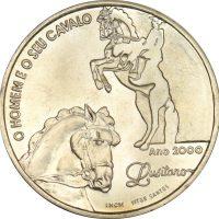 Πορτογαλία Portugal 1000 Escudos Silver 2000 Lusitano Horses