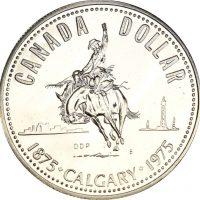 Καναδάς Canada 1 Dollar Silver Proof 1975 Calgary