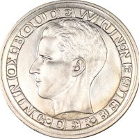 Βέλγιο Belgium 5 Francs 1958 Silver Gem Uncirculated
