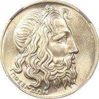 Ελλάδα Νόμισμα A Ελληνική Δημοκρατία 20 Δραχμές 1930 NGC MS63