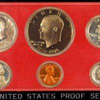 Ηνωμένες Πολιτείες USA 1976 Proof Set Σε Κασετίνα