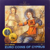 Κύπρος Cyprus Official Euro Set 2013 Brilliant Uncirculated