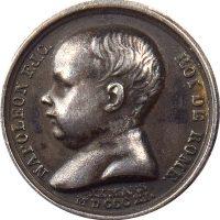 Kingdom Of Italy Napoleon I Silver Medal 1811 By Andrieu