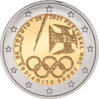 Πορτογαλία Portugal 2 ευρώ 2021 Tokyo Olympic Games