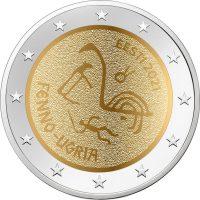 Εσθονία Estonia 2 Ευρώ 2021 Finno Ugric Νations