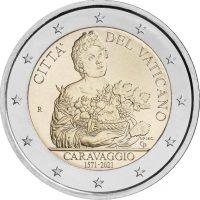 Βατικανό 2 Ευρώ 2021 450th Anniversary Οf Τhe Birth Οf Caravaggio