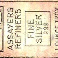 Ασημένια Μπάρα Assayers Refiners 1 Troy Ounce 999