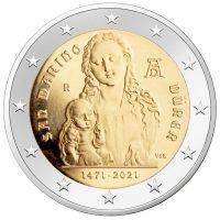 Σαν Μαρίνο San Marinio 2 Ευρώ 2021 550th Anniversary Birth Οf Albrecht Dürer
