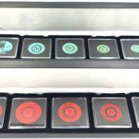 Keeling Cocos Complete 1968 Plastic 10 Token Set