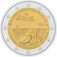 Φινλανδία Finland 2 Ευρώ 2021 Åland Autonomy 100 Υears