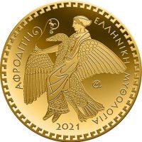 Ελλάδα Αναμνηστικό Νόμισμα 100 Ευρώ 2021 Χρυσό Αφροδίτη