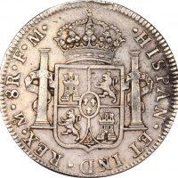 Μεξικό Mexico 8 Real 1798 Silver