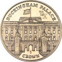 Isle Of Man 1 Crown 2010 Buckingham Palace CuNi