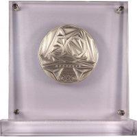 International Olympic Academy Medal 1961 - 2011 In Plexiglass Case