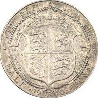 Μεγάλη Βρετανία Great Britain Half Crown 1910 Silver