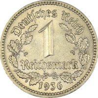 Γερμανία Germany 1 Reichsmark 1936A High Grade