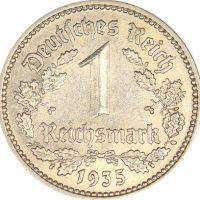 Γερμανία Germany 1 Reichsmark 1935A High Grade