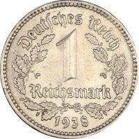 Γερμανία Germany 1 Reichsmark 1938A High Grade