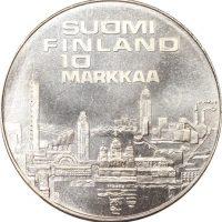 Φινλανδία Finland 10 Markaa 1971 Silver European Athletics