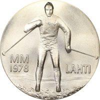 Φινλανδία Finland 25 Markaa 1978 Silver Winter Games In Lahti