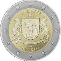 Λιθουανία Lithuania 2 Ευρώ 2021 Dzūkija