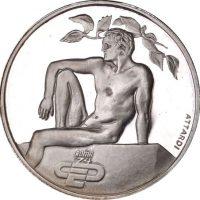 Ιταλία Italy 1974 Silver Medal European Atletics Championship