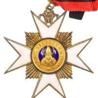 Βατικανό Vatican Order Of St Sylvester Commandor 1st Class Badge
