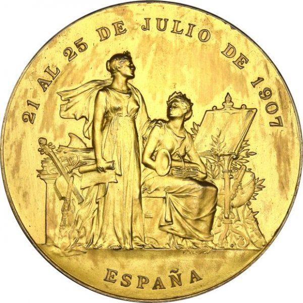 Spain 1907 San Sebastian International Music Competition Jury Medal