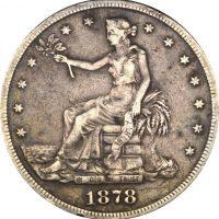 United States Trade Dollar 1878 Silver San Fransisco Mint