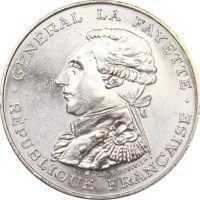 Γαλλία France 100 Francs Silver 1987 Uncirculated Condition