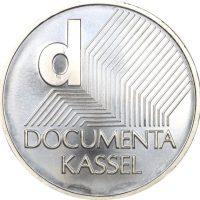 Germany Silver 10 Euro 2002 Unc Documenta Kassel Art Exposition