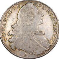 Germany Bavaria Madonna Thaler Silver 1765 High Grade