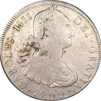 Βολιβία Bolivia 8 Reales 1799 Silver