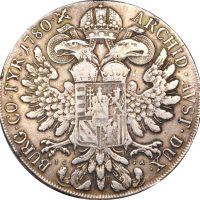 Austria Maria Theresa Taler 1780 ICFA Dav 1117 Vienna Mint